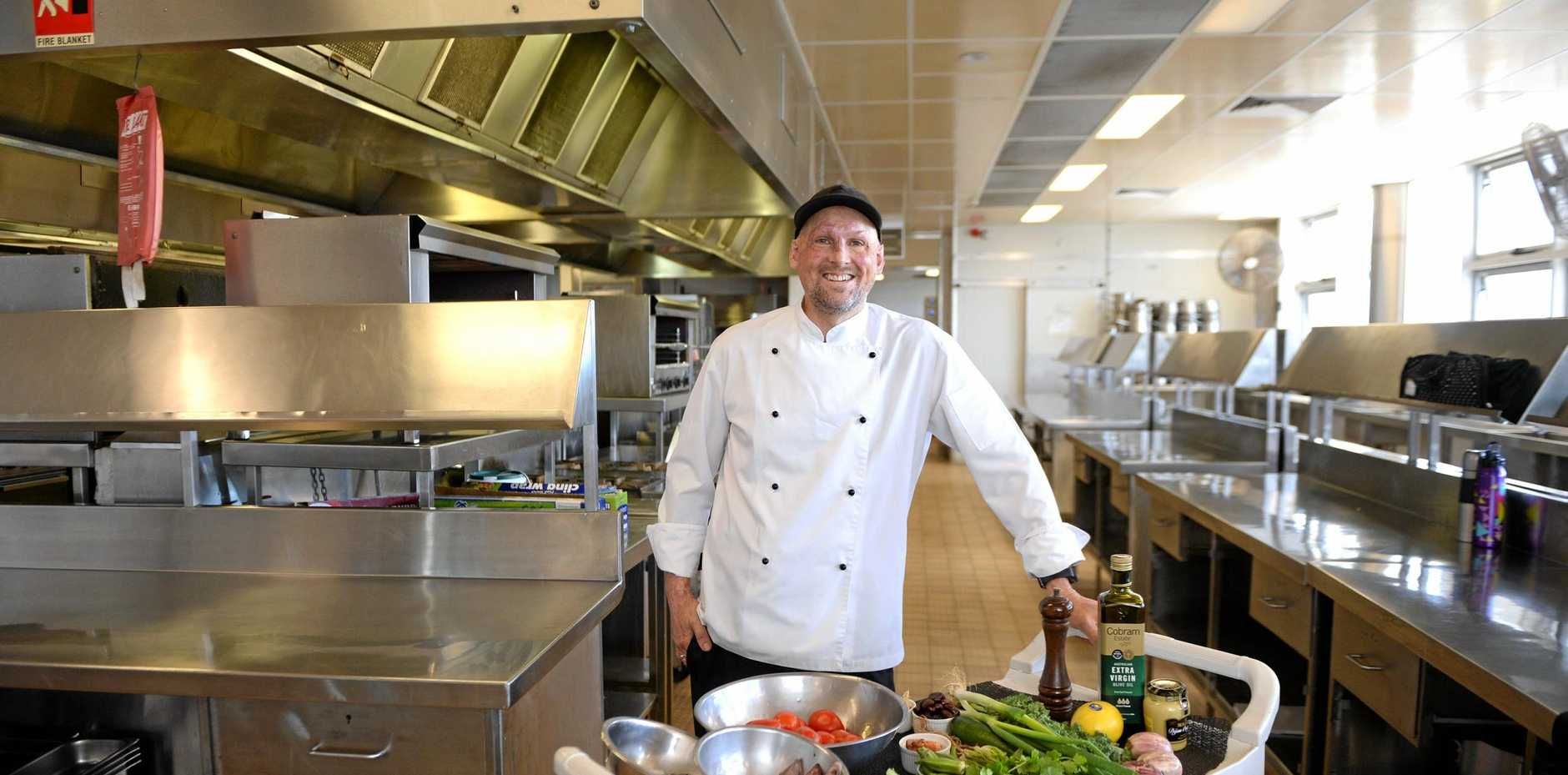 Chef Matt Golinski has returned to Mackay as part of The Greater Whitsunday Food Network's Queensland Week events. Photo Lee Constable / Daily Mercury