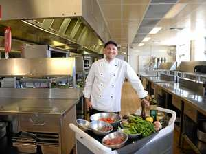 Celebrity chef Matt Golinski serves up Mackay spread