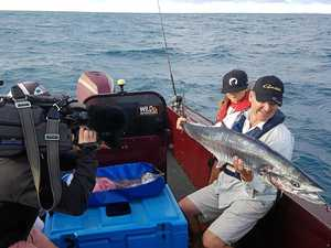 Celebrity fisherman hooked on Gladstone