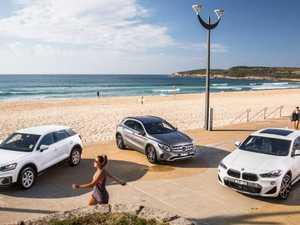 Three-way comparison test: BMW X2 v Audi Q2 v Mercedes GLA