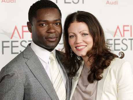 Georgina Chapman hid out at her good friend David Oyelowo and his wife Jessica's home. Picture: Splash