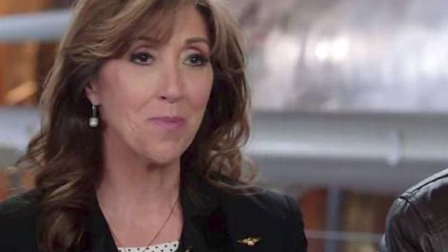 Southwest Airlines pilot Tammie Jo-Shults said she pushed away the fear when trying to stop a flight from crashing. Picture: ABC