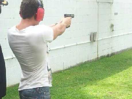 Heazlewood loved shooting. Photo: Facebook