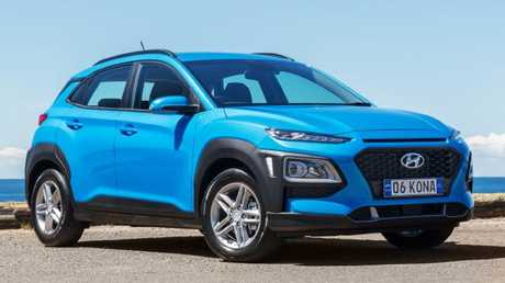 Supplied Cars Hyundai Kona base model. Picture: Supplied.
