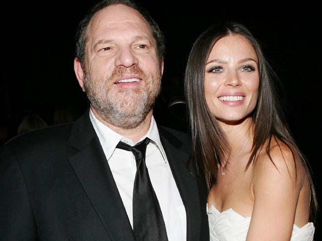 Georgina Chapman says Harvey Weinstein is a good dad. Picture: Getty