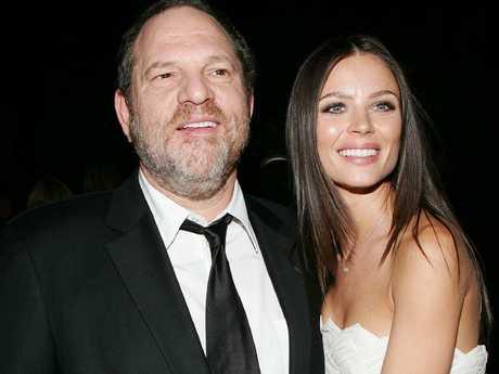 Georgina Chapman says Harvey Weinstein is a good dad. Picture: Getty