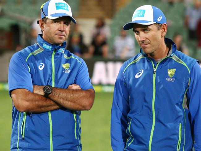 Ricky Ponting turned Justin Langer down.