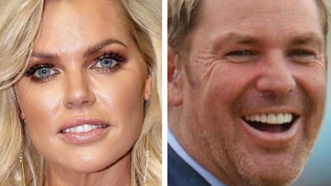 "Sophie Monk once had a ""cheeky"" tryst with Shane Warne."