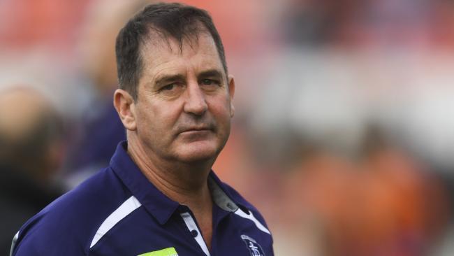 Dockers coach Ross Lyon.