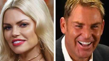 Sophie Monk and Shane Warne... who'd have guessed it?