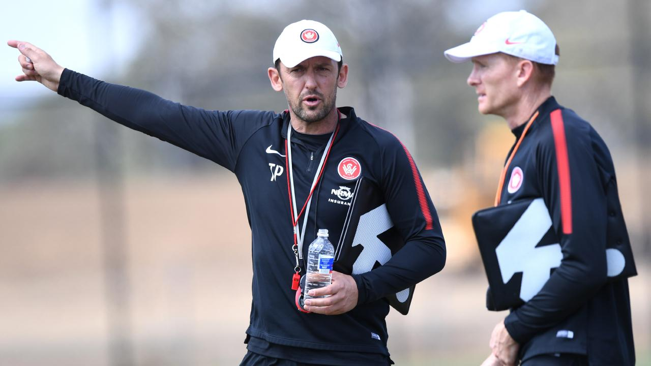 Former Wanderers head coach Tony Popovic is heading west. Picture: AAP