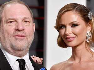 Weinstein's wife breaks silence