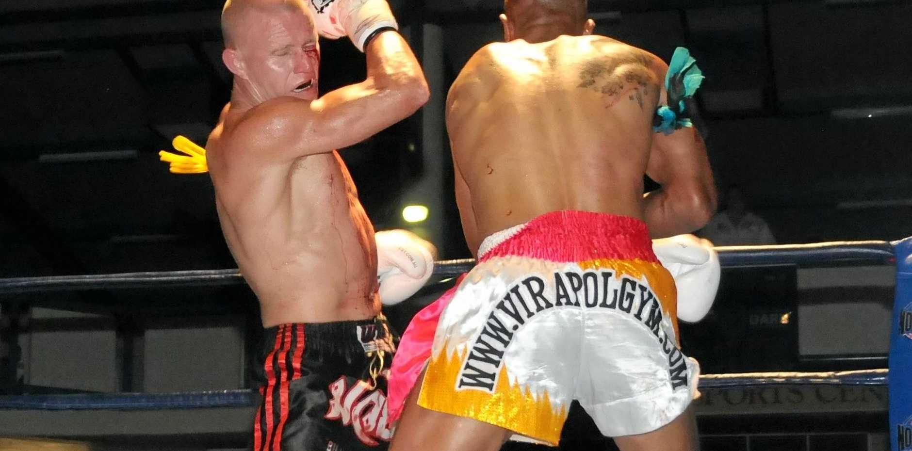 World kick boxing champion Billy