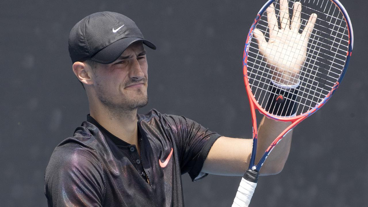 Bernard Tomic has found form in France.