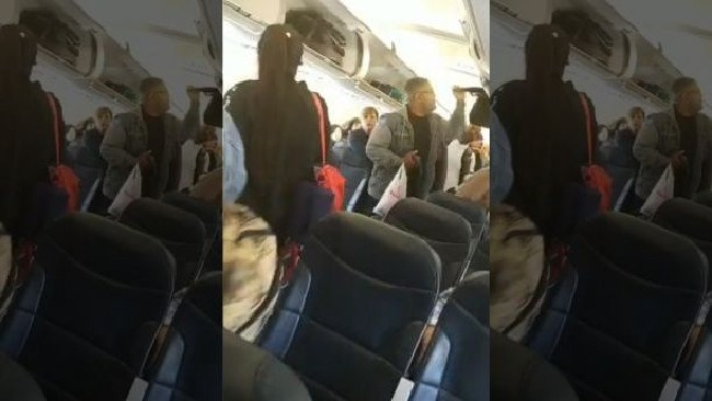 The incident occurred on Spirit Airlines. Picture: Safira Allen via Storyful