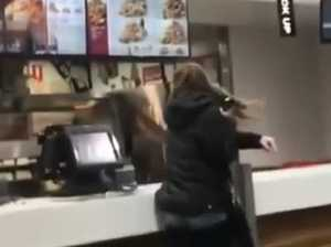 Real zinger! Violent rampage at Adelaide KFC