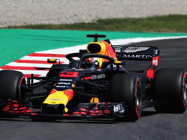 Ricciardo's yet to reveal what car he'll be driving next season.