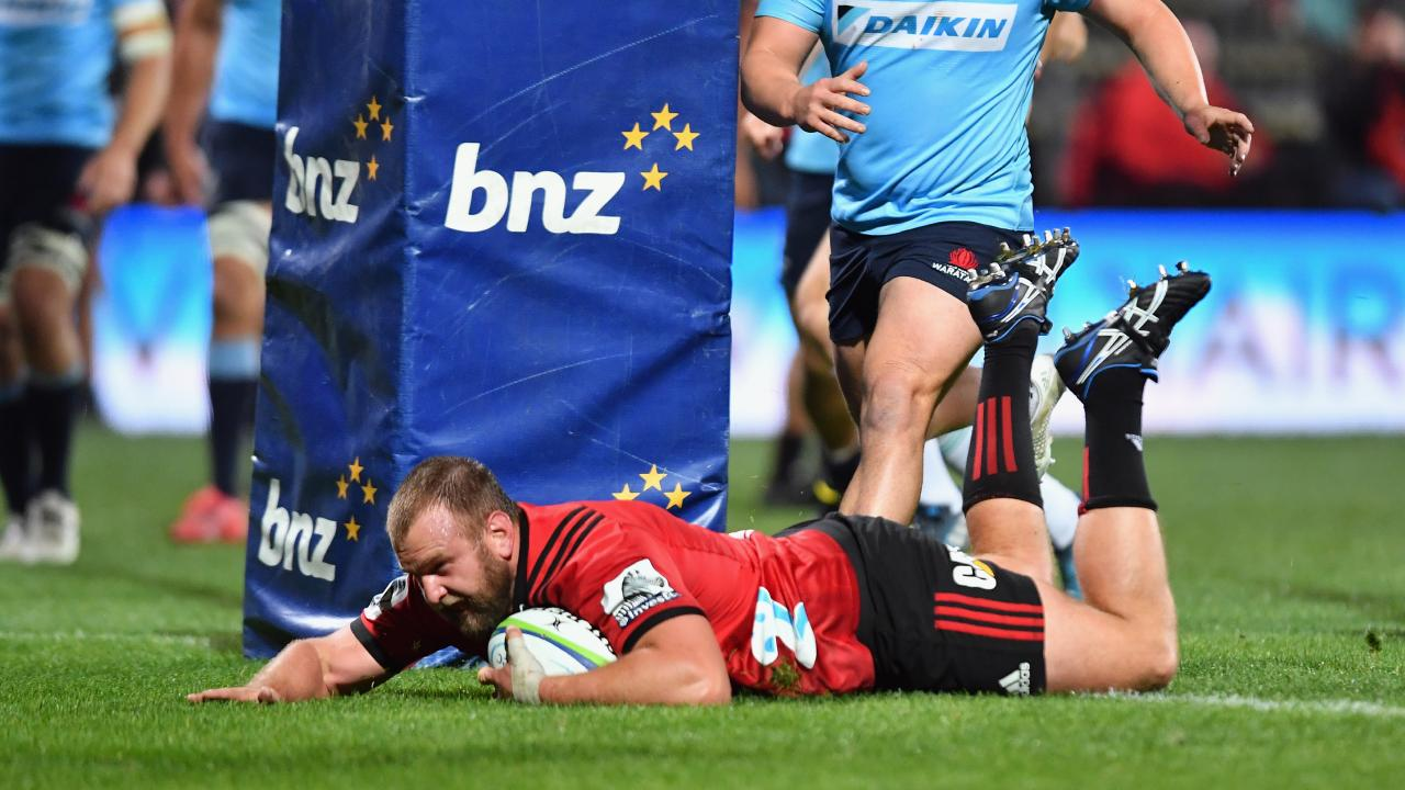 The Crusaders have recalled All Black Joe Moody to their line-up for Saturday's sem-final against the Hurricanes.
