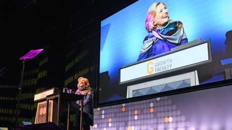 Hillary Clinton has wrapped up her speaking tour in New Zealand and Australia. Picture: AAP /Joe Castro.