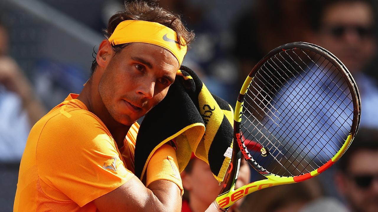 It just wasn't Rafael Nadal's day.