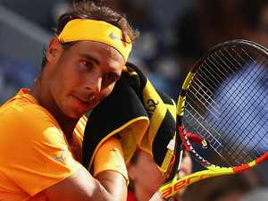 Rafa shock! He loses match on clay