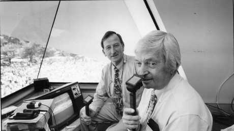 The legendary commentator brought many matches to life in a unique manner.