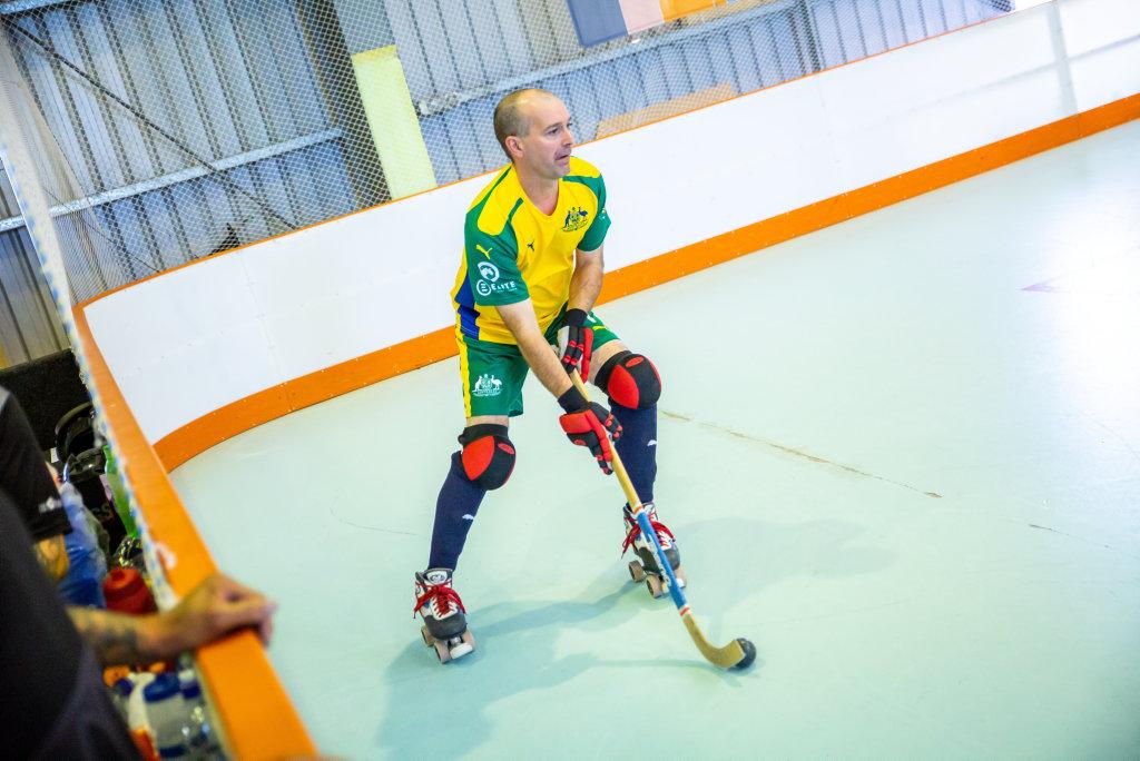 Roller Hockey Australia Veterans vs New Zealand Masters
