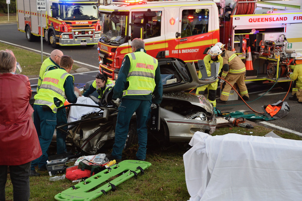 A second crash at the top of the Toowoomba Range on Sunday, May 13.