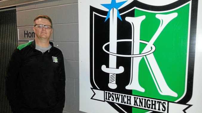 Ipswich Knights head coach Mick Matthews.