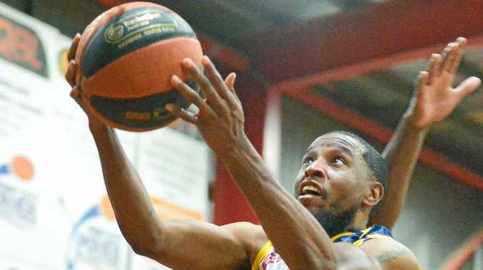 Mens basketball - Port City Power vs Toowoomba.