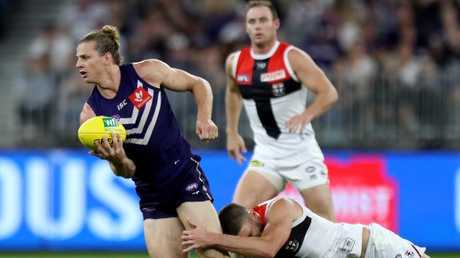 Nat Fyfe escaped suspension. Picture: AAP Images