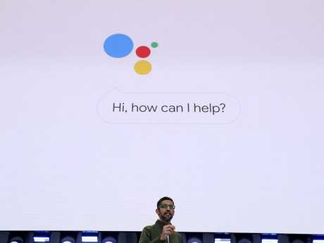 Google CEO Sundar Pichai. Google is under investigation for using people's phone data without permission. Picture: Justin Sullivan/Getty Images/AFP