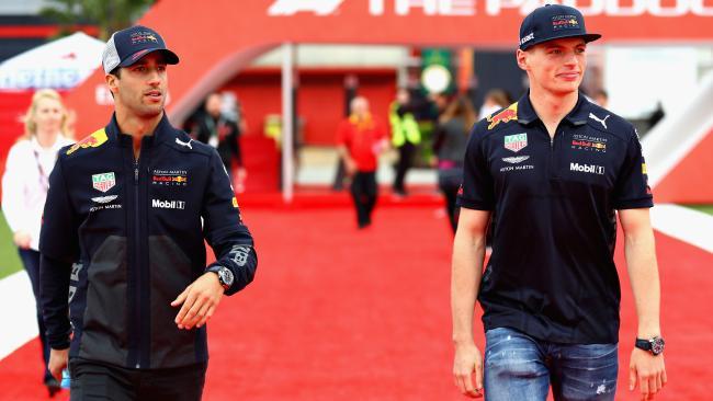 Daniel Ricciardo says Red Bull's still nowhere near it.