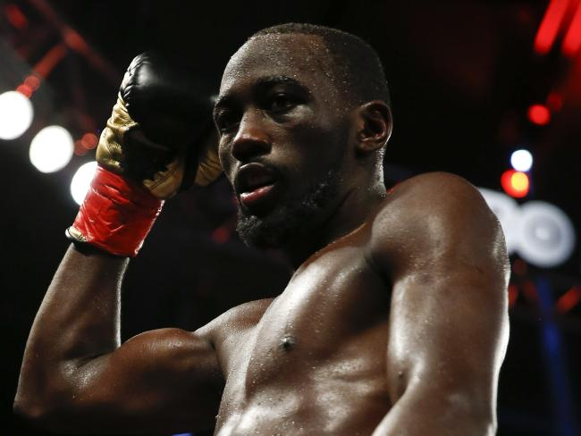 Terence Crawford has agreed to not wear the controversial horse-hair gloves.
