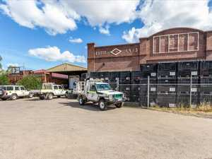 Industrial building with vintage facade hits the market