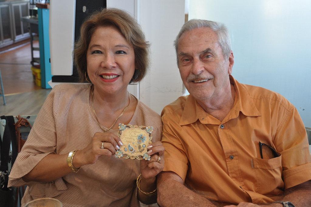 Image for sale: Nini and Ingo Sielaff at Keppel Bay Sailing Club celebrating Nini and Lyn Stephen's birthdays