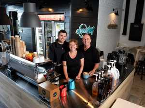 New cafe opens as town centre takes shape