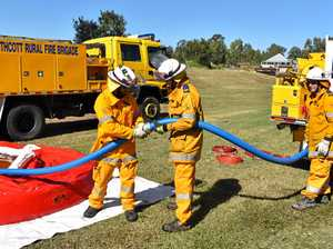 Firefighters put skills to the test at Gatton training day