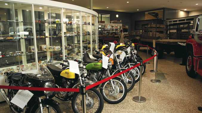 BLAST FROM THE PAST: 11 Norton Commando motorcycles from 1967 to 1977 are currently on display in the Queensland Transport Museum.