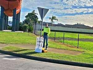 'I need work': Ballina man takes his job hunt to the streets