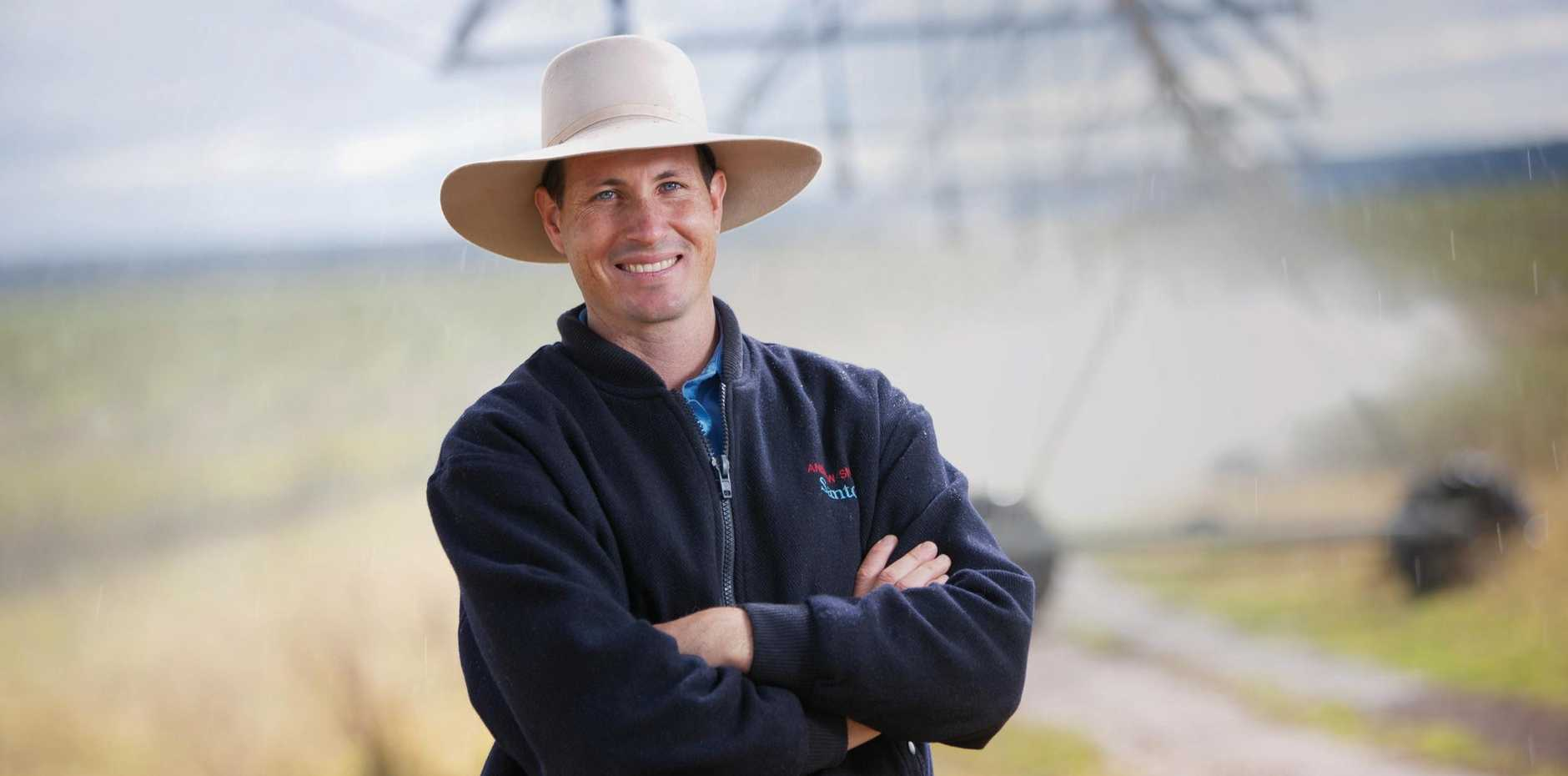 COVERAGE: Santos' Andrew Snars is excited about the new phone coverage for Wallumbilla.