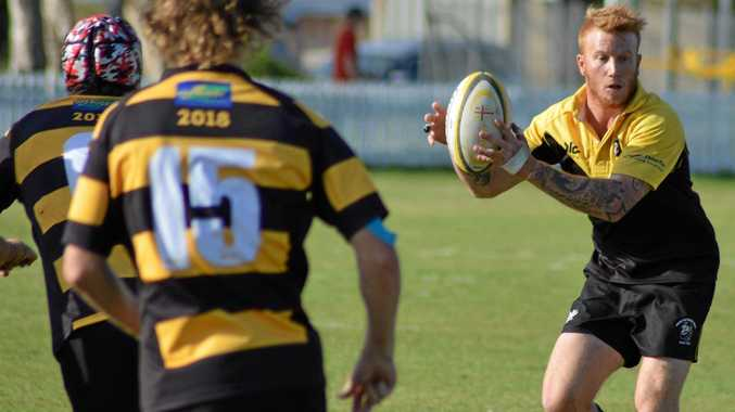 Yamba Buccaneers captain Jason James scored two tries in the side's win over rivals Kyogle Cockies.