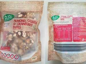 NUTS: Aldi recalls popular snack food from stores