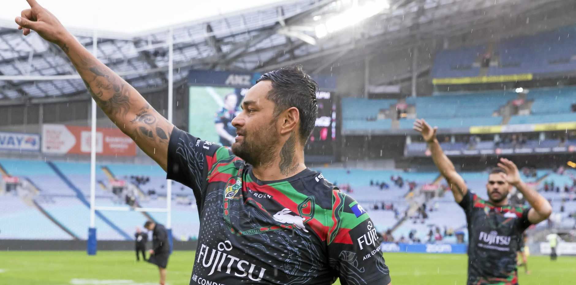 The Rabbitohs are on the rise in the betting markets.