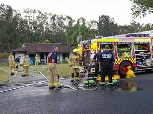 Family left homeless after house gutted by flames