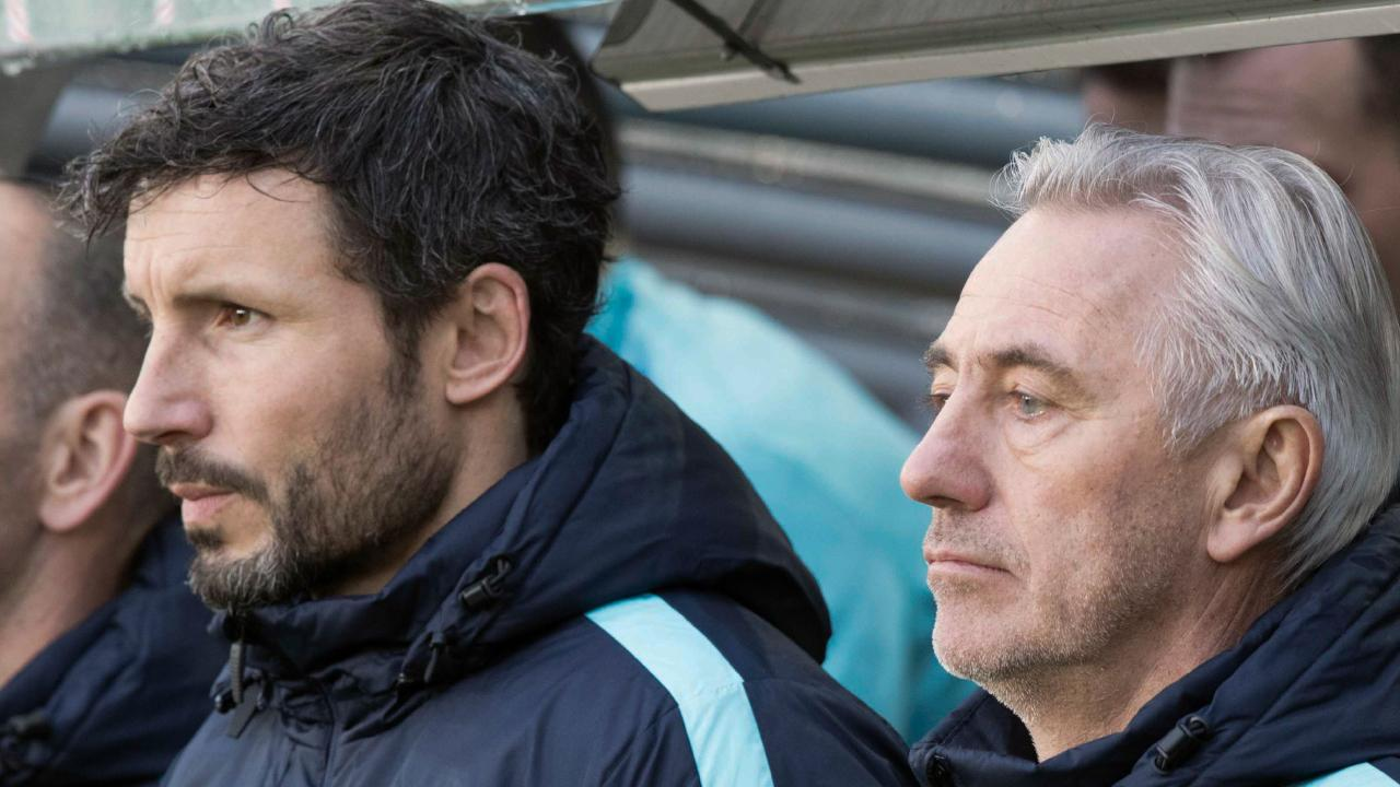 Bert van Marwijk (R) and Mark van Bommel (L) will be hoping to inject the Total Football mentality that has been cemented into Dutch football since the days of Johan Cryff.