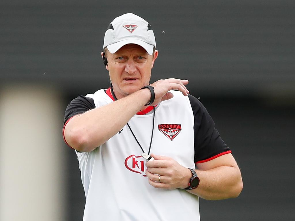 Mark Neeld is no longer at the Bombers