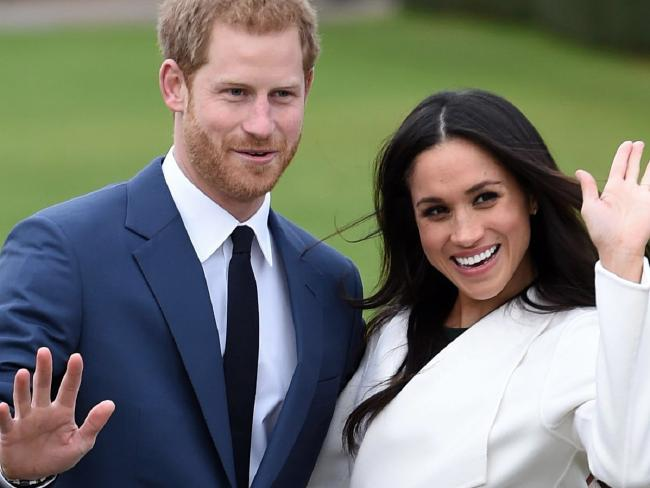 Ever since announcing their engagement, Prince Harry and Meghan Markle have been dropping details about the wedding that has turned into a huge international event. Picture: Eddie Mulholland Pool via AP