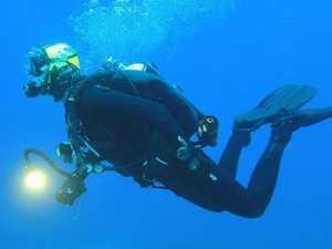 Widow tells of dive death horror