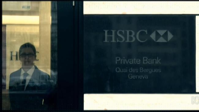 Drug cartels, mafia, celebrities and the European aristocracy: HSBC clients. Picture: Four Corners.